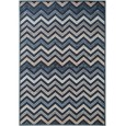 Kilimas Woody Blue Chevron