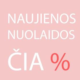 Naujienos ir Nuolaidos %